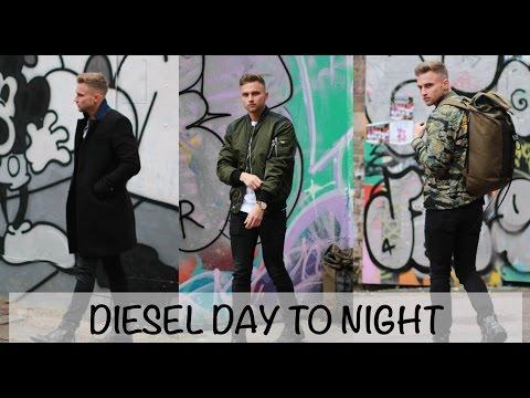 DIESEL DAY TO NIGHT | MENS LOOK BOOK | CARL CUNARD
