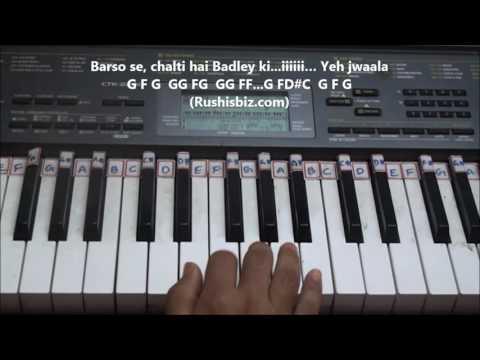 Shivam Song (Hindi) Piano Tutorials - Baahubali 2 | 7013658813 - PDF NOTES/BOOK - WHATS APP US
