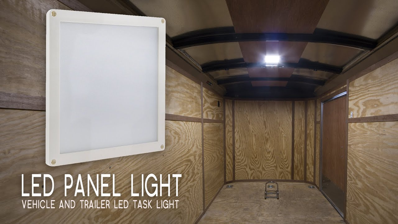 Led Panel Light Vehicle And Trailer Led Task Light 6