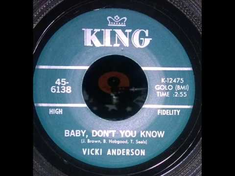 Vickie Anderson Baby don't you know Funk Soul Dancer