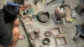 kerajinan tembaga kuningan AA art gallery MOV