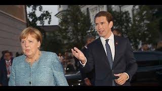Berlin-Reise: Kurz trifft Merkel