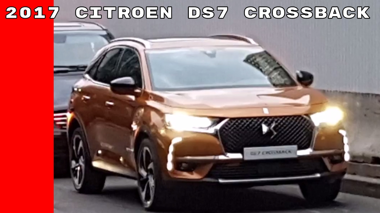 Citroen Ds7 2017 Citroen Ds7 Crossback Spied