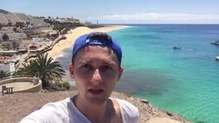 Fuerteventura - Playa Jandia & Morro Jable & Barcelo Jandia Playa walking tour