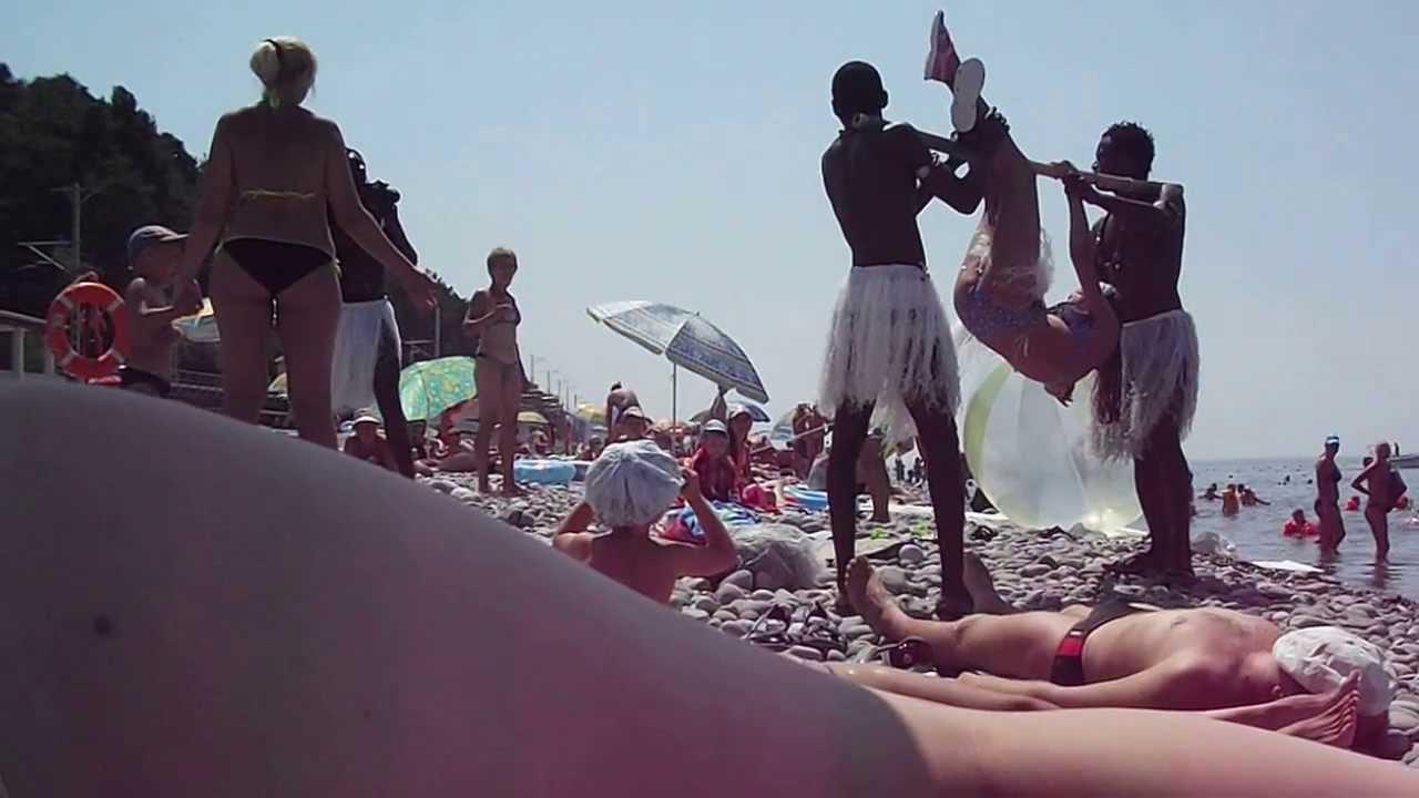 трахнули жену на пляже в казани часто встречаются