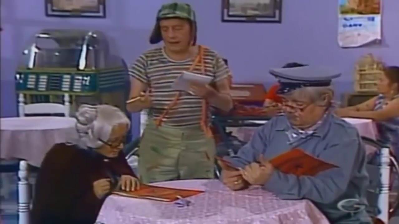 ¡No hay galletas! - El Chavo del 8 - ¡Mirá! - (1979)