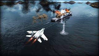 BREAKING: US NAVY STRIKES RUSSIAN WARSHIPS NEAR NORTH KOREA | Wargame: Red Dragon Gameplay