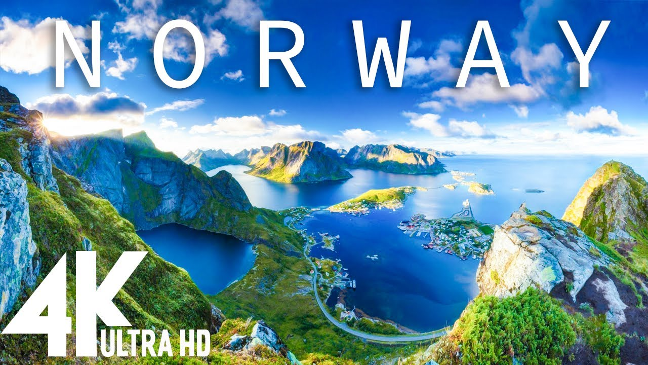 4K Video 24/7 - NORWAY - Relaxing music along with beautiful nature videos ( 4k Ultra HD )