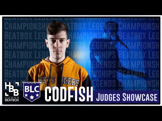 Codfish | Judges Showcase | Beatbox Legends Championships 2018