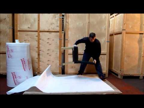 Export Wrapping a Dining Chair