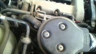 trou accéleration problème moteur