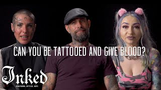 Tattoo Artists Debunk #BloodMyths for the American Red Cross