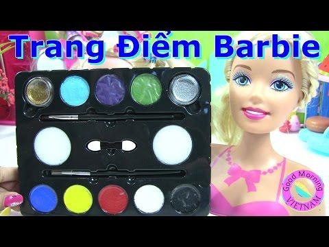 ♥♥Trang Điểm Barbie Moxie Girlz (phan 1) Trang Điểm Barbie♥♥  Barbie  Makeup Using Face painting