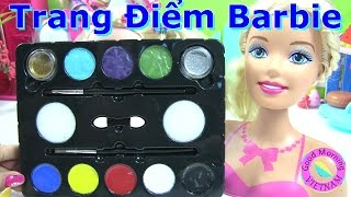 ♥♥Trang Điểm Barbie Moxie Girlz (phan 1) Trang Điểm Barbie♥♥  Barbie  Makeup Using Face painting