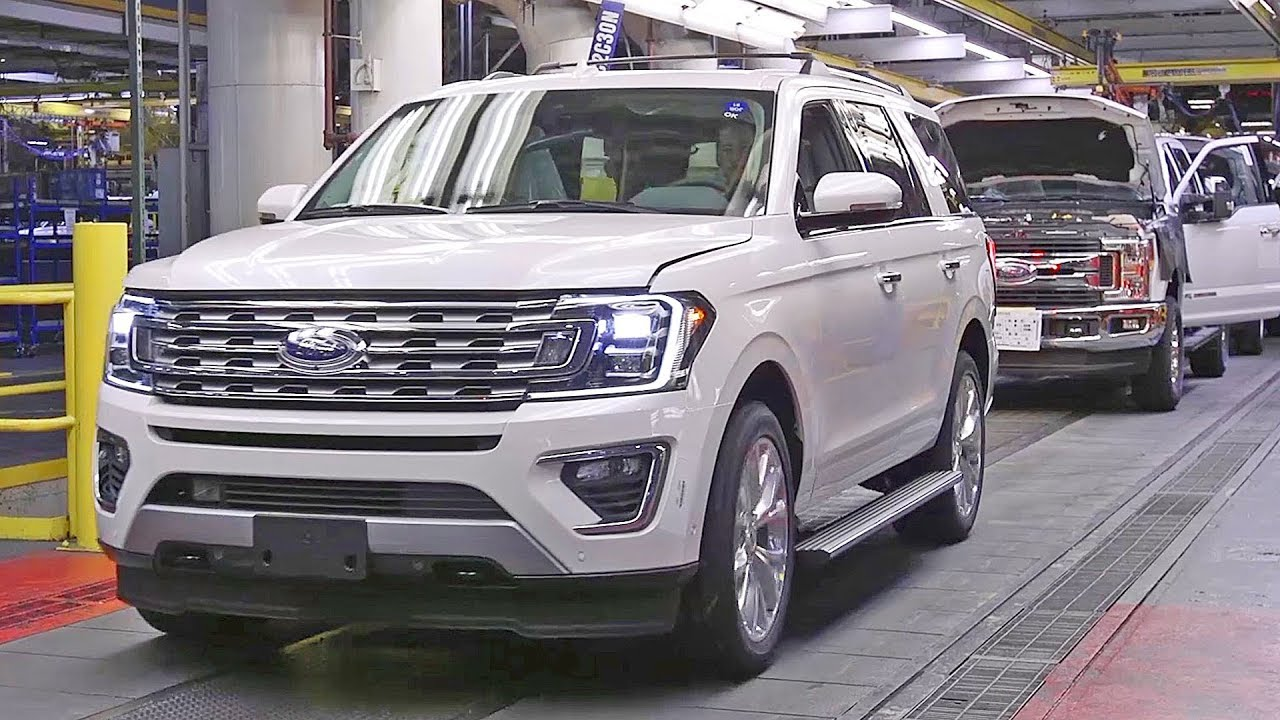 ford expedition 2018 production line american car. Black Bedroom Furniture Sets. Home Design Ideas