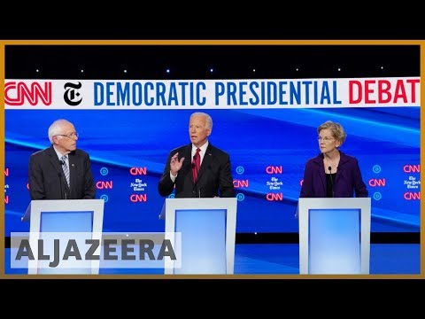 Fourth US Democratic debate: Impeachment, healthcare, Syria thumbnail