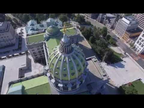 Capitol , Harrisburg Pennsylvania   4 k