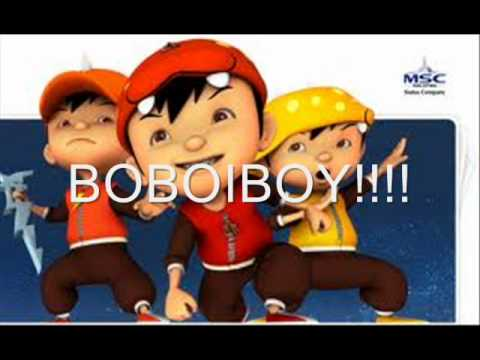 LAGU BOBOIBOY WITH LIRIK ^_^