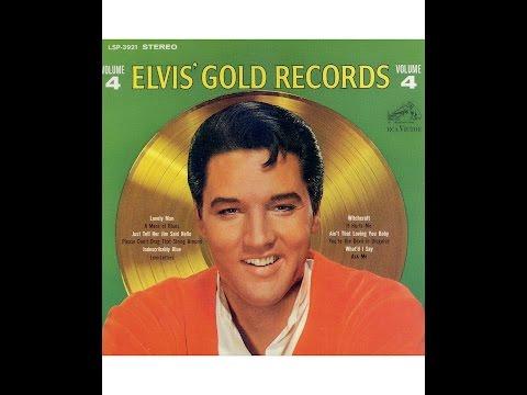 "CD31: ELVIS COLLECTION ALBUM ""ELVIS GOLD RECORDS VOL 4"" (CD 31 sur 57 / présentation JMD OFF)."