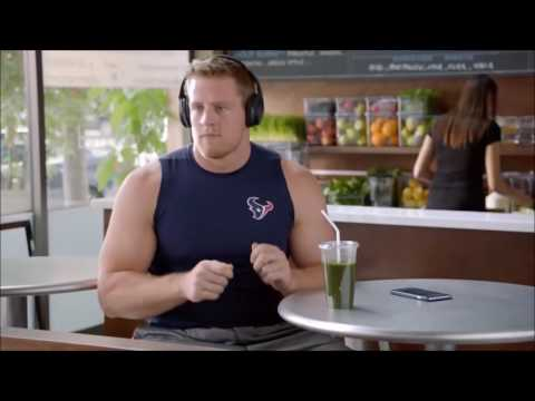 JJ Watt Learns About Noise Cancelling Headphones