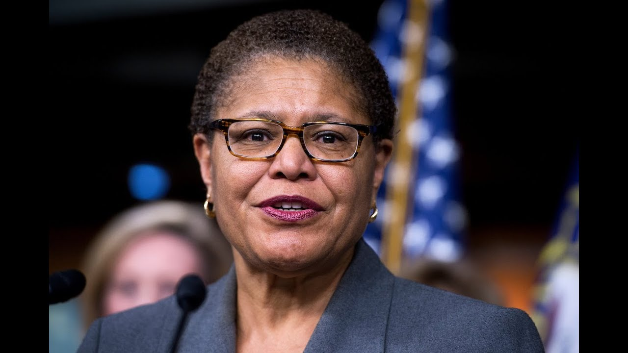 Karen Bass honors Nipsey Hussle on House floor