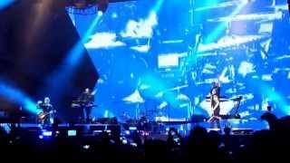 Depeche Mode Panne (Fail Intro) München live -Personal Jesus- 01.06.2013 Olympic Stadium