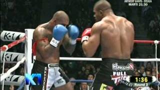 K1 Final 2010 - Alistair Overeem vs Tyron Spong - Round 3