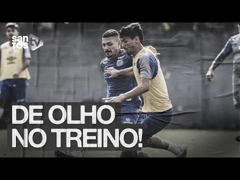 SANTOS VOLTA AOS TREINOS NO CT | DE OLHO NO TREINO (21/08/19)