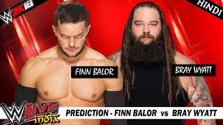 WWE 2K18 (Hindi) WWE LIVE INDIA 2017 - Finn Balor vs Bray Wyatt (PS4 Pro)