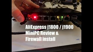 AliExpress  XCY mini PC firewall j1800 j1900 & pfsense | opnsense installation