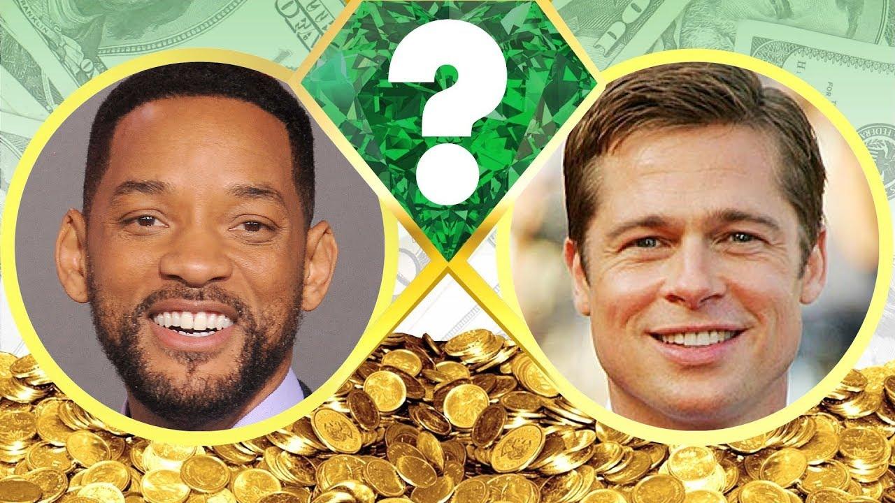 WHO'S RICHER? - Will Smith or Brad Pitt? - Net Worth ...