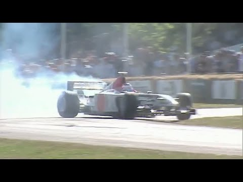 15 Years of Jenson Button at the Festival of Speed