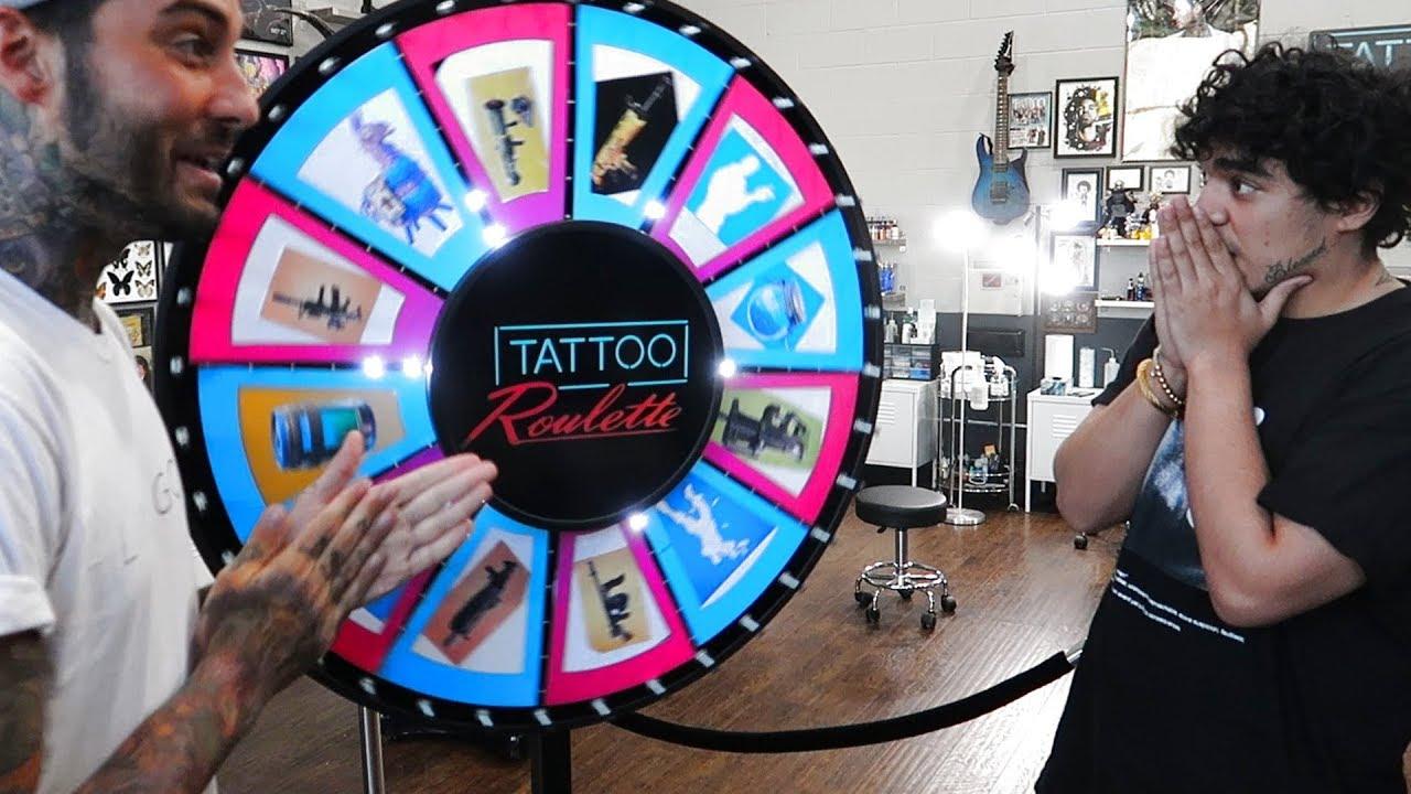 Tattoo Roulette Fortnite Edition