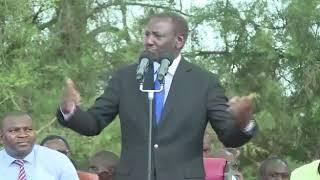 William Ruto speaks about his journey in politics