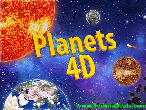 PLANET 4D AUGMENTED BOOK