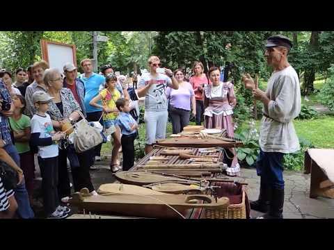 Музей забытой музыки на ярмарке «Липецкое городище»