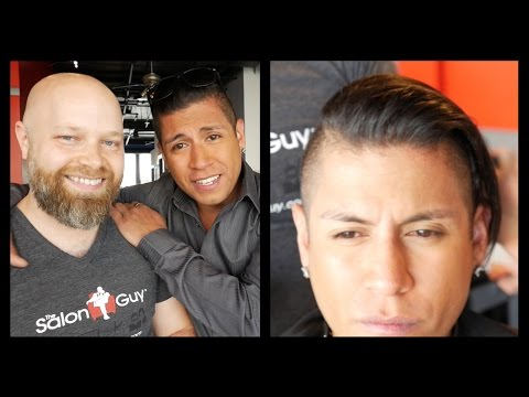 Jaguar Paw  Rudy Youngblood Haircut feat Hanz De Fuko  TheSalonGuy