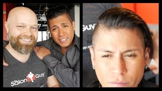 Jaguar Paw - Rudy Youngblood Haircut feat Hanz De Fuko - TheSalonGuy