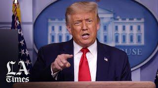 Trump suggests delaying November election