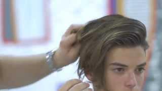 Luca Fersko Haircut feat Hanz De Fuko - TheSalonGuy