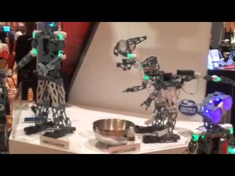 #CES2015 Macano relaunching erector set- check out robot video