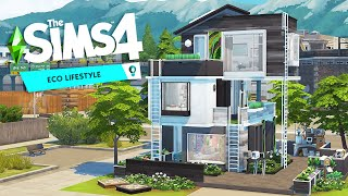 Building triple ECO TINY HOUSES with many ladders | The Sims 4: Eco Lifestyle