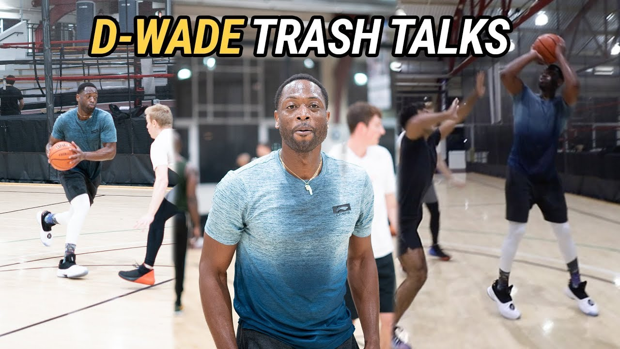newest 27ea8 0694d We Teamed Up With DWYANE WADE To Hoop Against NYC Locals! D Wade Talks  CRAZY TRASH 🗣