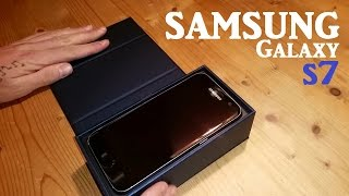 SAMSUNG GALAXY S7 - UNBOXING & Review (dutch)