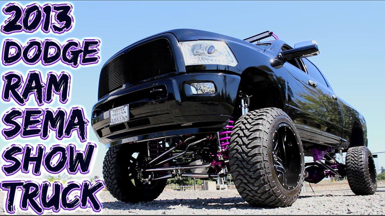 2013 Dodge Ram Laramie Crew Cab Sema Show Truck