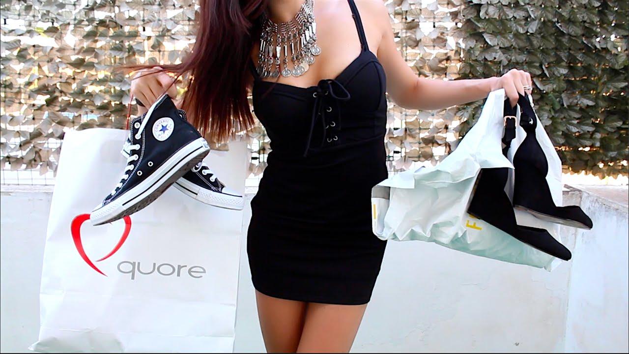 the latest caf5a 3177c Maxi SHOPPING SALDI e non ! HAUL VESTITI INDOSSATI   Forever 21 Alcott  Zalando + Bikini