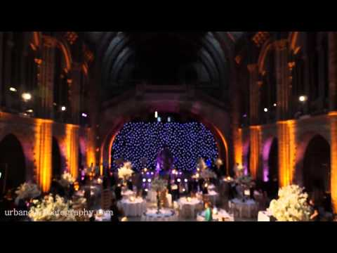 National History Museum London Wedding BTS