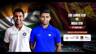 Sri Lanka U19 vs India U19 – 5th Youth ODI
