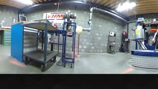 VHM Dyno test KTM 85SX 2018 (prototype head-insert-piston) 360 video