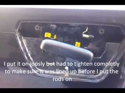 Wiring Diagram For 2002 Gmc Envoy Chevy Avalanche Tailgate Handle Repair Youtube